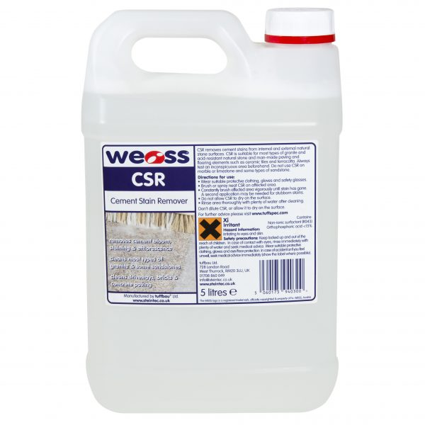Weiss Cement Stain Remover