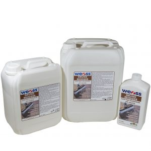 Weiss cement stain remover csr 5l and 25l bottles for Cement cleaning products